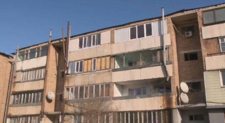 Residents of high-rise buildings heat their apartments with wood and coal in the Almaty region