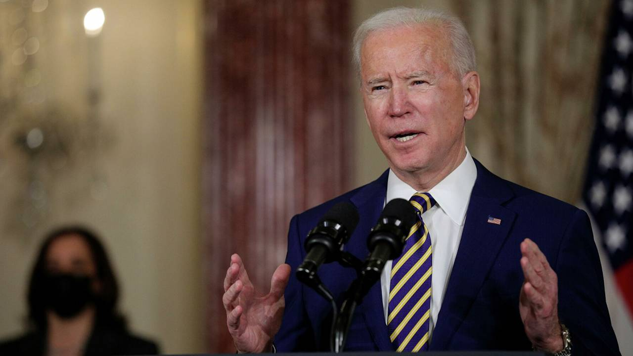 Biden called the condition for lifting sanctions on Iran