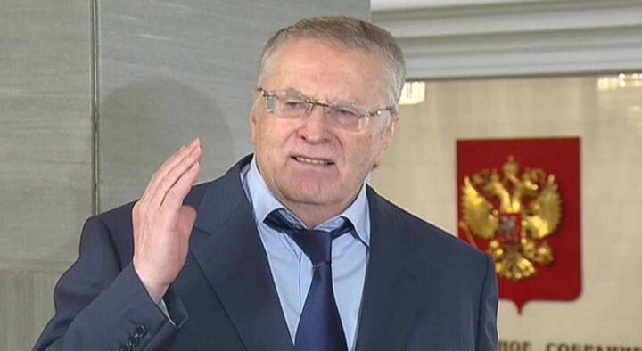 Zhirinovsky said that he sees himself as the next president of the Russian Federation after Putin