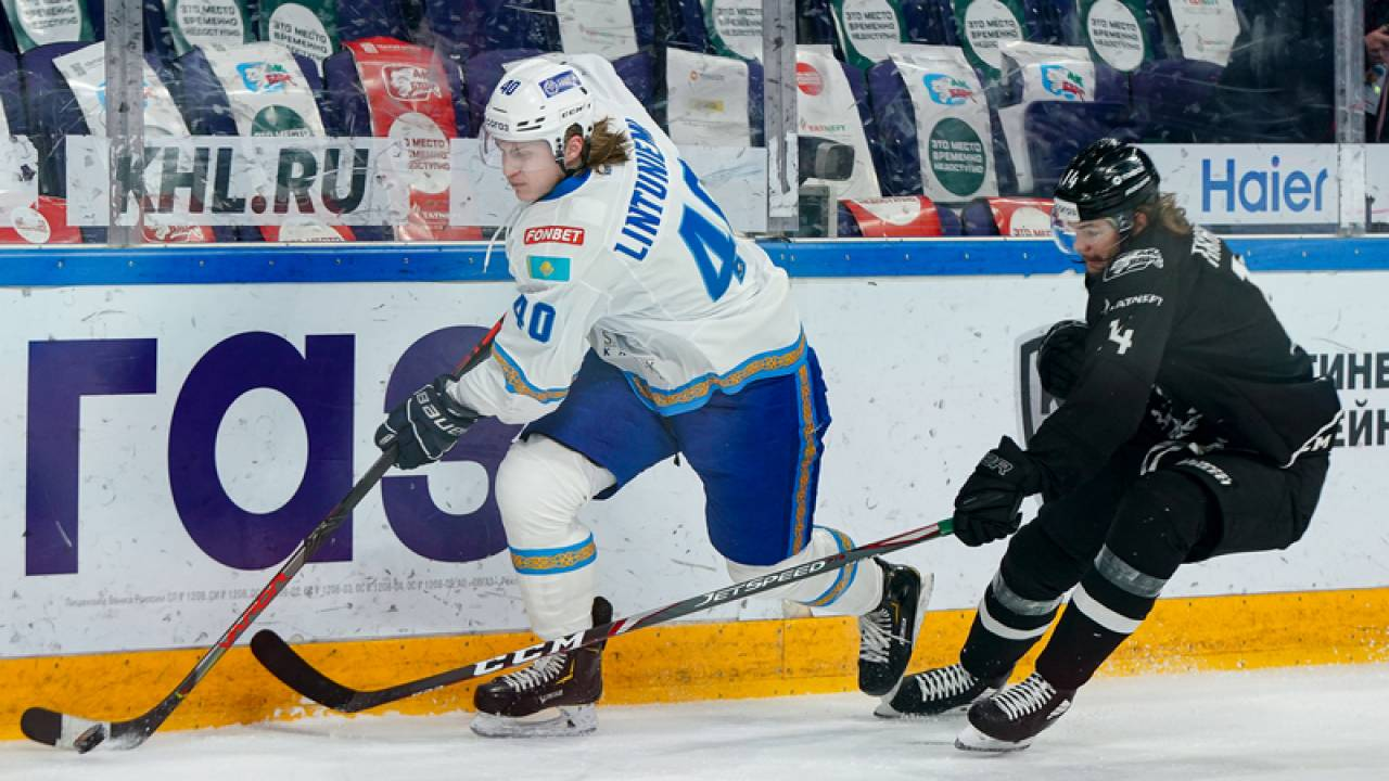 Barys lost to Ak Bars in overtime