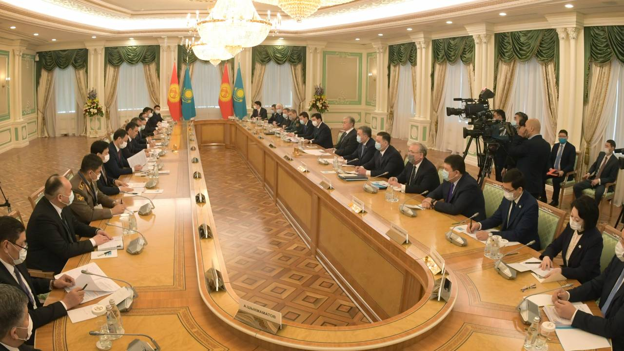 Tokayev and Japarov signed a Joint Statement