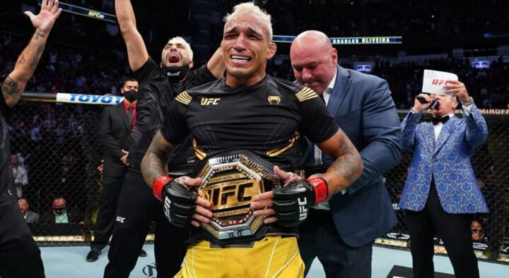 Instead of Khabib, Oliveira knocked out Chandler and became the new UFC champion