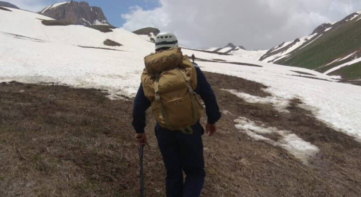 How are the search for students who disappeared in the mountains of the Turkestan region going?